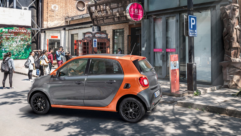 Photo of سيارة سمارت الجديدة ForTwo و ForFour