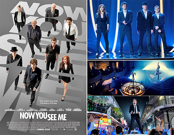 "Photo of فيلم "" NOW YOU SEE ME "" السحر لتحقيق الأهداف !"