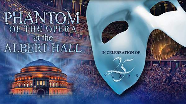صورة The Phantom of the Opera at the Royal Albert Hall بمناسبة مرور 25 سنة